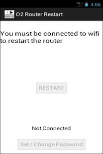 O2 Router Restart - screenshot