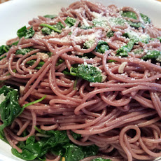Thin Spaghetti in Red Wine