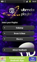 Screenshot of UP - Free Dubstep , DnB & Trap