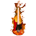 Virtual guitarra eléctrica icon