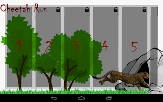 Screenshot of Animal Run - Cheetah