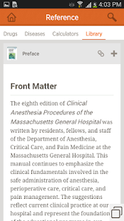Clinical Anesthesia Procedures - screenshot