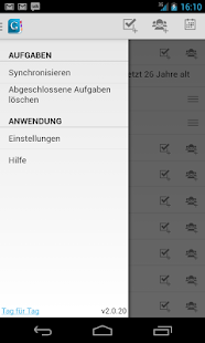 Tag für Tag-Organizer Screenshot