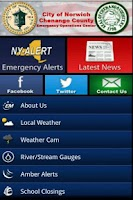 Screenshot of Norwich/Chenango County NY EMO