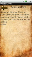 Screenshot of French Prayer Book