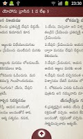 Screenshot of Bible Grandhamu ( Telugu )