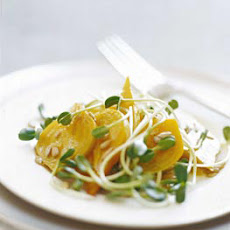 Golden Beet and Sunflower Salad
