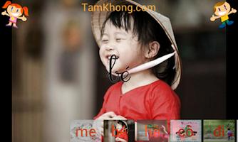 Screenshot of Bé Tập Đánh Vần
