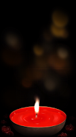 Screenshot of Romantic Candle