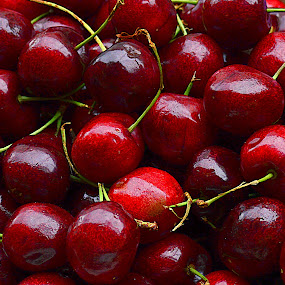 Cherry. by Andrew Piekut - Food & Drink Fruits & Vegetables (  )
