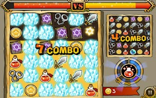 Screenshot of Witch Wars: Puzzle