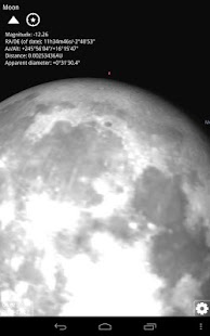 Stellarium Mobile Planetario Screenshot