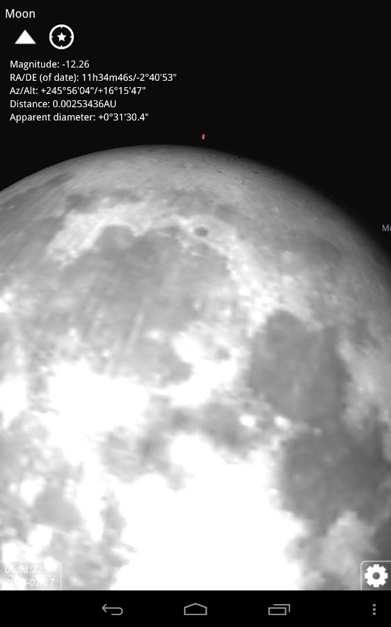 Stellarium Mobile Sky Map Screenshot 5