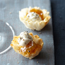 Phyllo Shells + Fig Jam