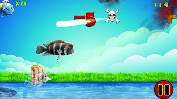Screenshot of Ninja Fish
