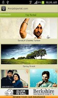 Screenshot of Punjabi Portal