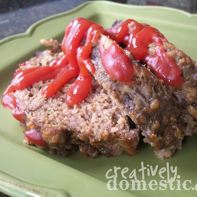 Meatloaf in the Crockpot