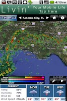 Screenshot of WMBB Radar