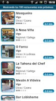 Screenshot of Restaurantes Gallegos