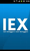 Screenshot of IEX.nl Beleggingsinformatie