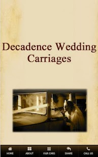 Decadence Wedding Carriages - screenshot