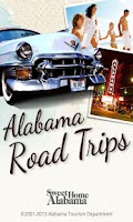 Screenshot of Alabama Road Trips