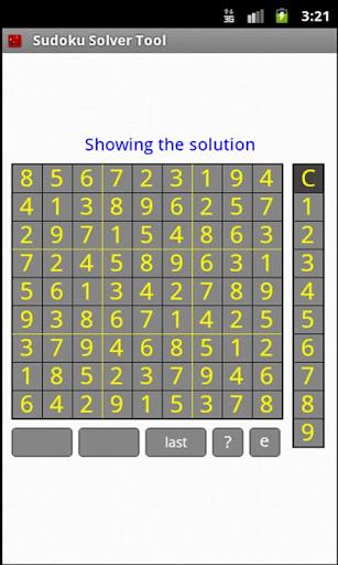Sudoku Solver Tool