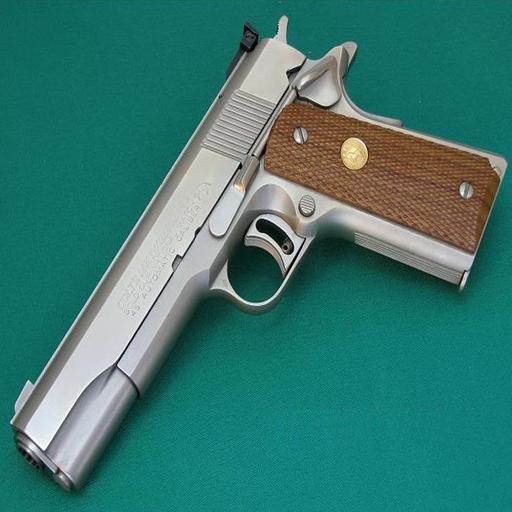 槍柯爾特M1911 LOGO-APP點子