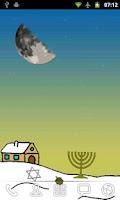 Screenshot of Hanukkah Live Wallpaper