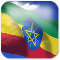 3D Ethiopia Flag icon