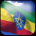 3D Ethiopia Flag + icon