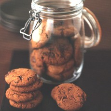 Chocolate Chip Ginger Nuts