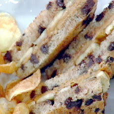 Emeril's Peanut Butter and Banana Sandwich with Homemade Bam Chips
