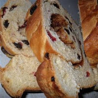 Breadmaker Cinnamon Raisin Bread