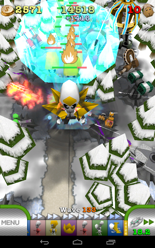 TowerMness: 3D Tower Defense - screenshot