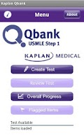 Screenshot of Kaplan Qbank