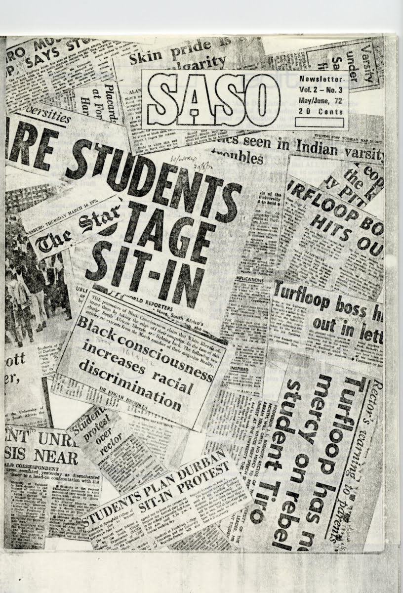 Cover of a 1972 SASO Newsletter