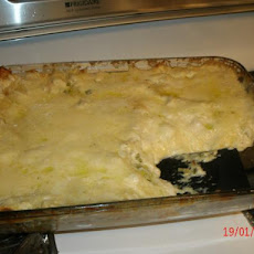 Lasagna With Alfredo Sauce