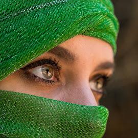 Arabian Nights by Vicki Street - People Portraits of Women