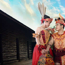 Dayak by Robertus Umi Irawan Irawan - Wedding Bride & Groom