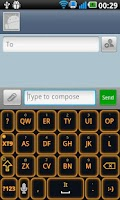 Screenshot of Glow Legacy Keyboard Evil Pro