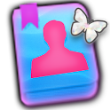 GO CONTACTS - Pastel Butterfly icon
