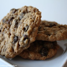 Spiced Oatmeal Cookies (Adapted from allrecipes)