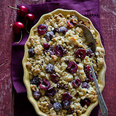 Chocolate Cherry Crisp