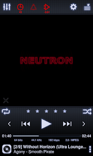 Neutron Music Player- screenshot thumbnail
