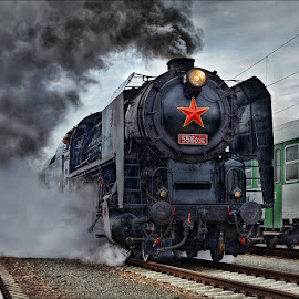 by Ivan Rusek - Transportation Trains