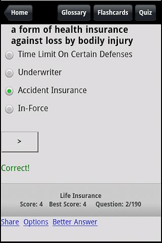 Life & Health Agent Prep - screenshot