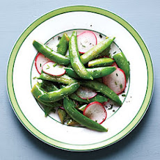 Snap Pea and Radish Sauté