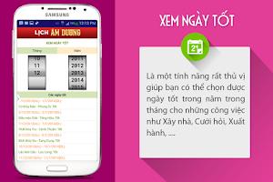 Screenshot of Lich Am Duong 2015
