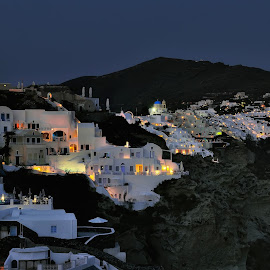 Santorini by Dimitar Pavlov - City,  Street & Park  Neighborhoods ( greece, santorini )